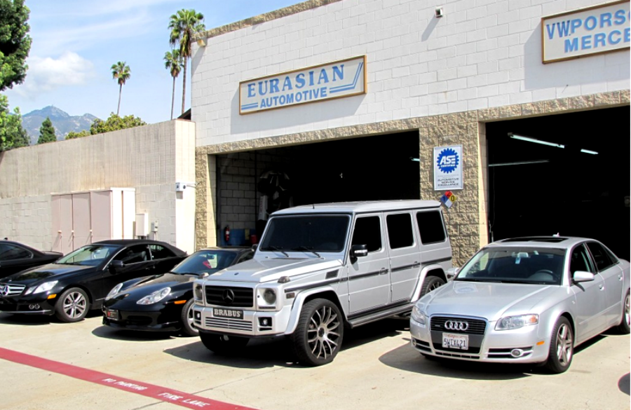 mercedes benz repair by eurasian automotive in pasadena