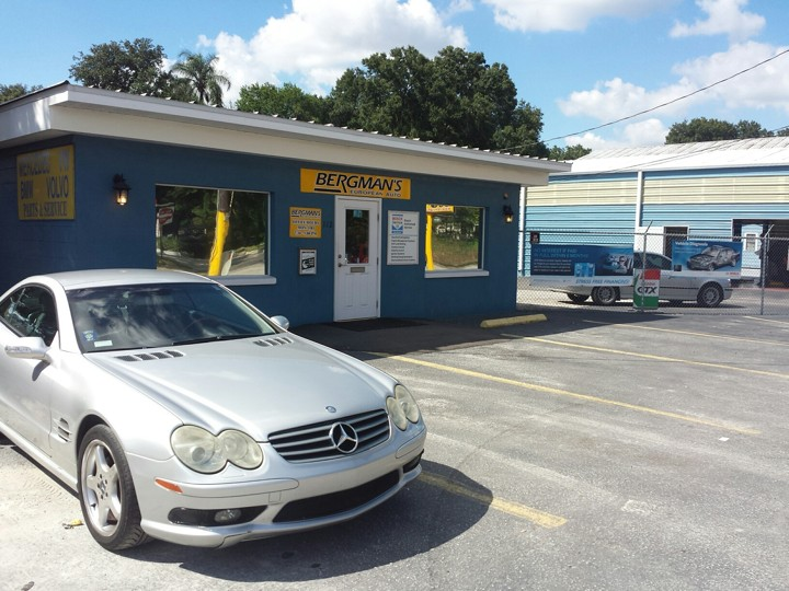Mercedes benz repair by bergman 39 s european autoworks in for Mercedes benz sanford fl