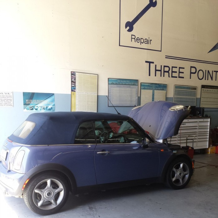 Mini cooper repair by three points star motors in for Mercedes benz service sacramento