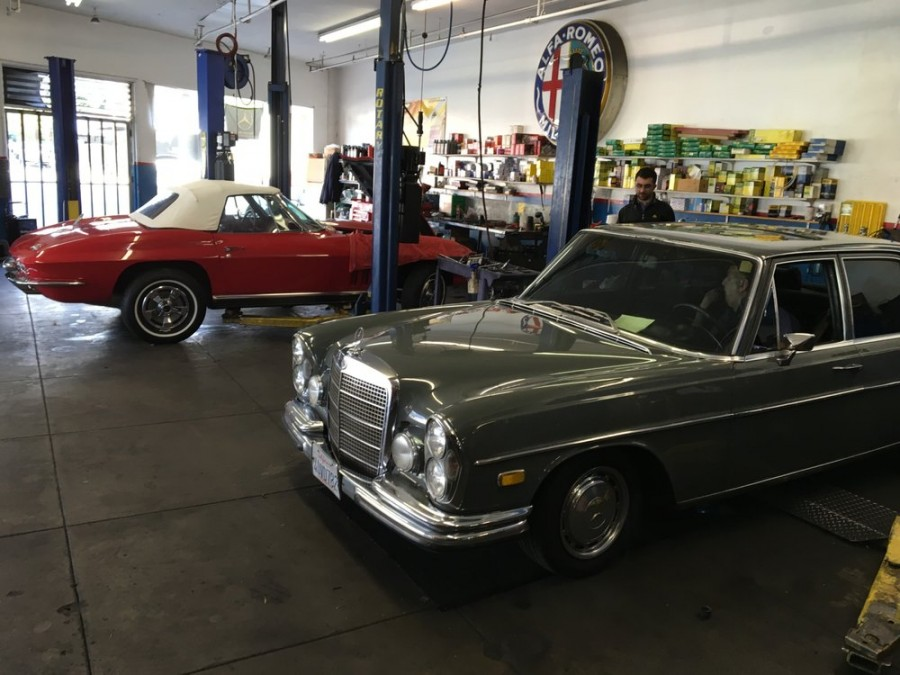 Mercedes benz repair by super automotive in north for Mercedes benz repair shops