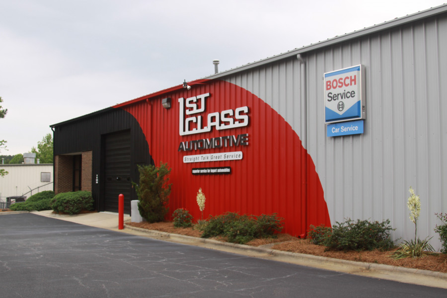 Mercedes-Benz Repair by First Class Automotive in Raleigh ...