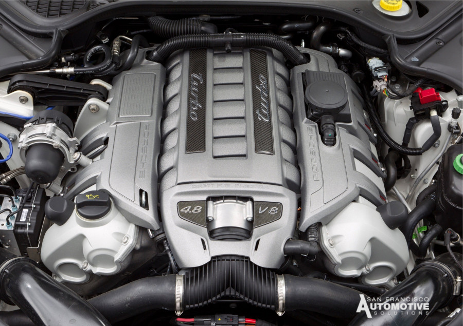 Panamera Turbo S engine 550hp Tune up