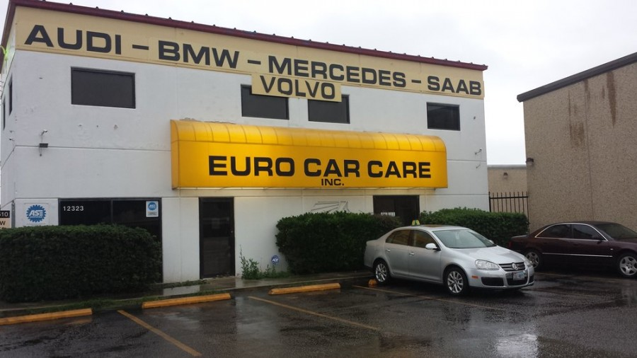 Mercedes benz repair by euro car care in san antonio tx for San antonio mercedes benz dealers