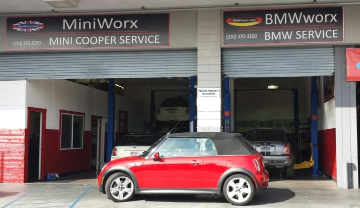 New front entrance to MiniWorx South Bay
