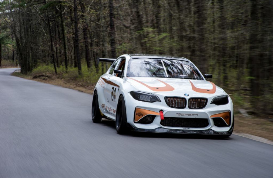 Our BMW M2 Race car ready for action