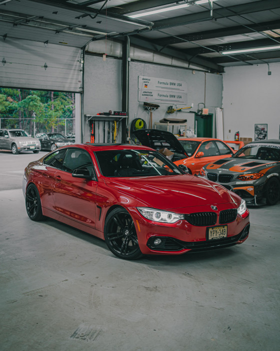 435i In for Service + Upgrades