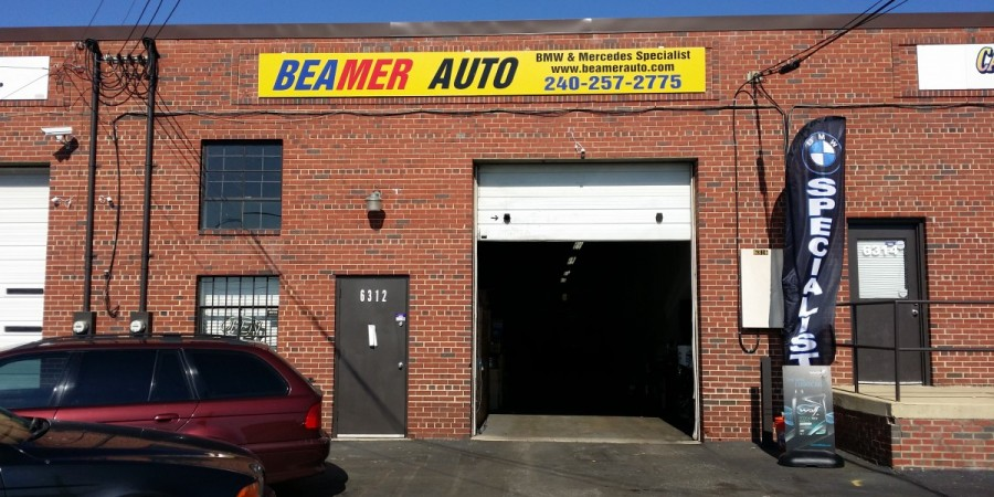 Bmw repair by beamer auto in clinton md bimmershops for Garage md auto