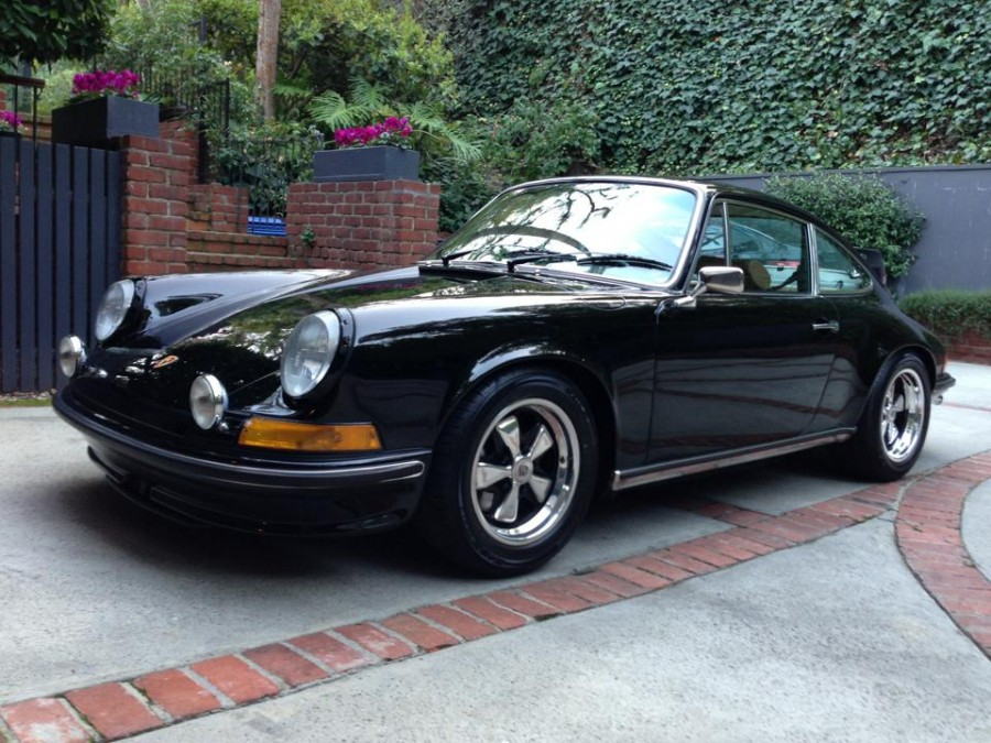 A client's 1973 911S after receiving the TLG treatment