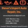 Steve's Import Auto Repair - Independent BMW repair shop near Beaumont, TX