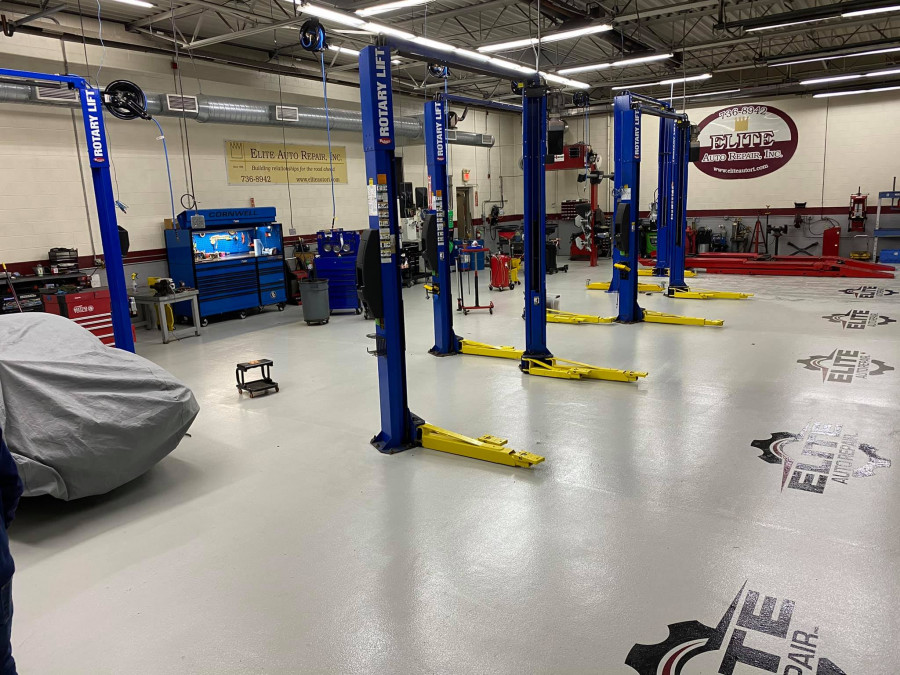Elite has new floors!! We continue to make improvements for our clients and employees for a better working environment and cleanliness!