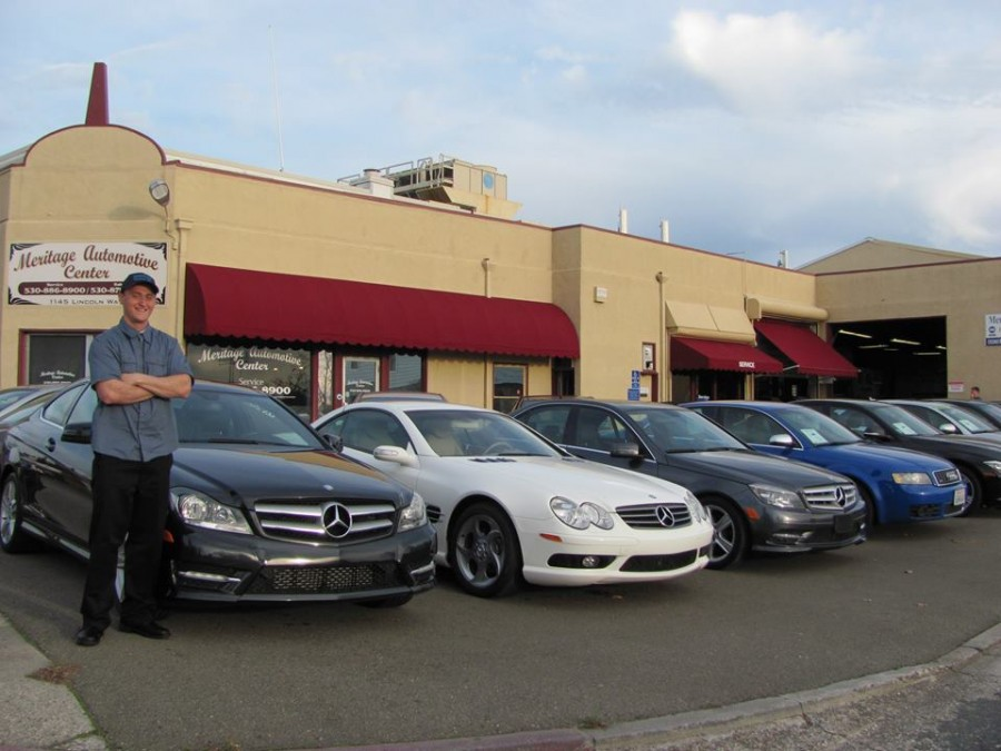 Mercedes benz repair by meritage euro auto repair in for Mercedes benz rocklin service