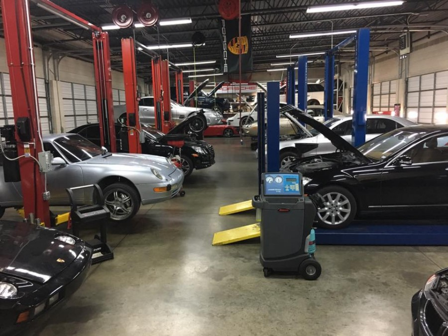 Mercedes benz repair by fix n go in plano tx benzshops for Plano mercedes benz service