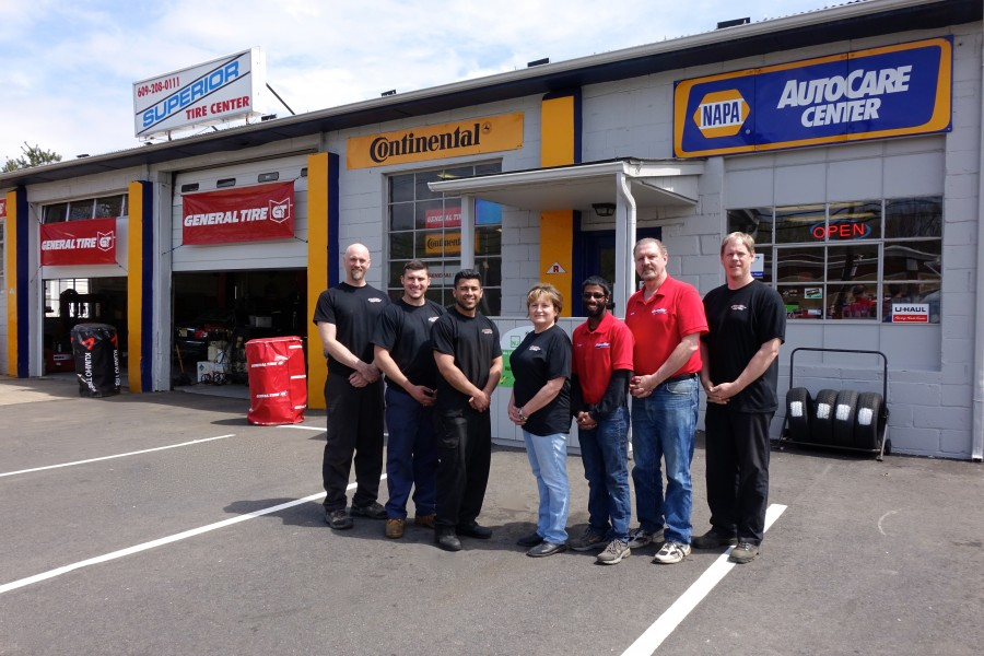 The team at Superior Automotive