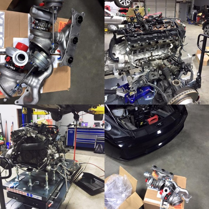 Vargas upgraded turbos on this 335xi. We are Nashville's only VTT Dealer!
