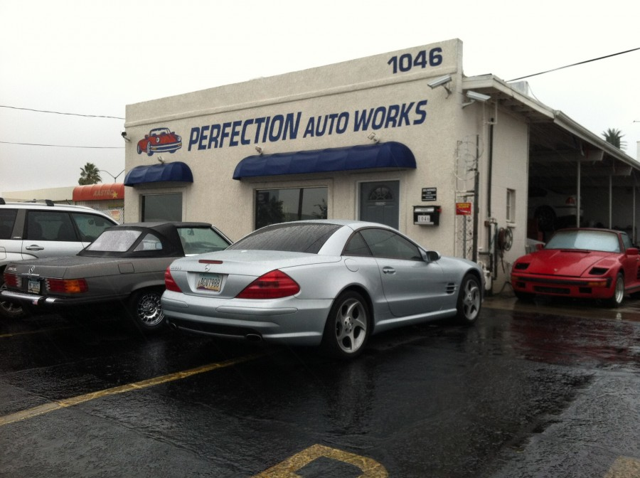 Mercedes Benz Repair By Perfection Auto Works In Tucson