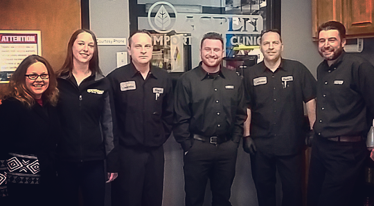 The team at our Union location is ready to help you with your maintenance needs!