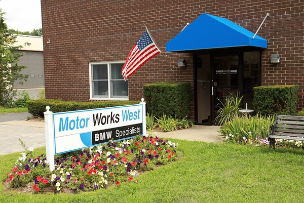 Motor Works West is easy to find, look for our sign out front.