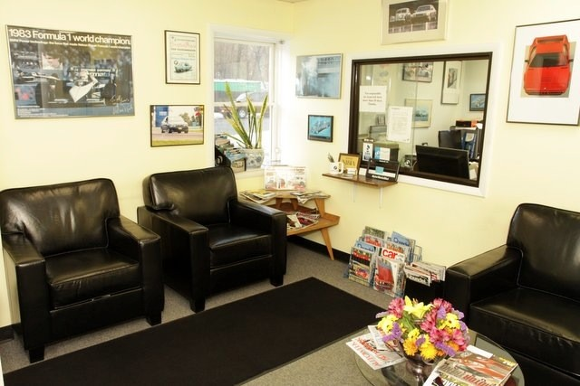 We have a clean and comfortable client lounge.