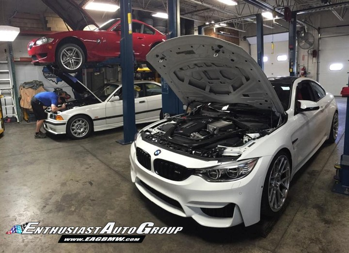 F82 M4 and E36 M3 in for Dinan upgrades