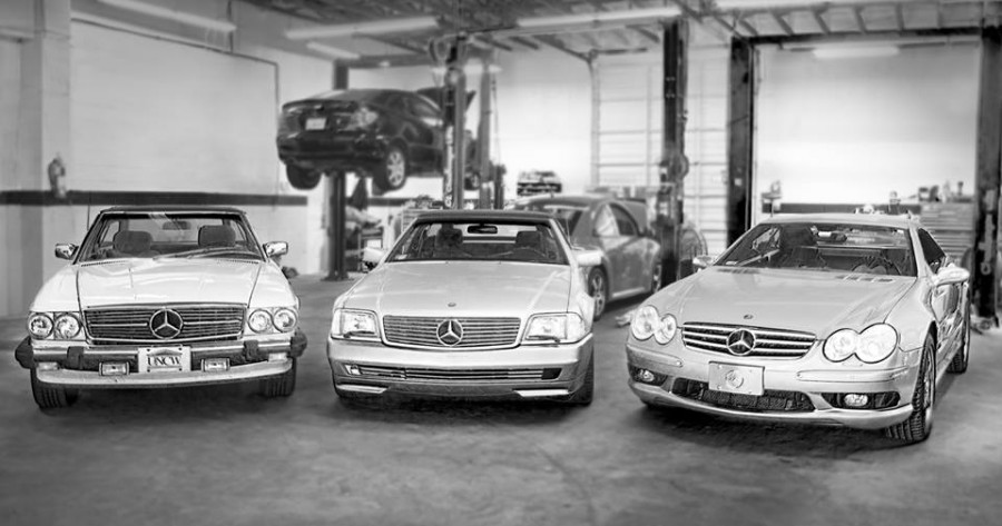 mercedes benz repair by precision autowerks in raleigh nc benzshops. Black Bedroom Furniture Sets. Home Design Ideas