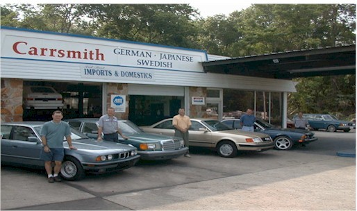 Mercedes benz repair by carrsmith auto repair in for Mercedes benz gainesville fl