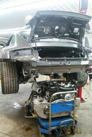 996 Turbo Engine modification