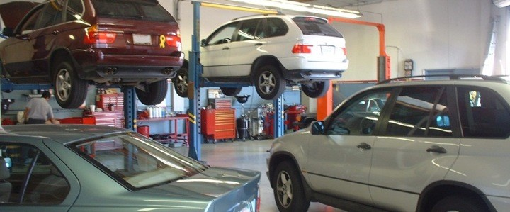 Complete BMW service