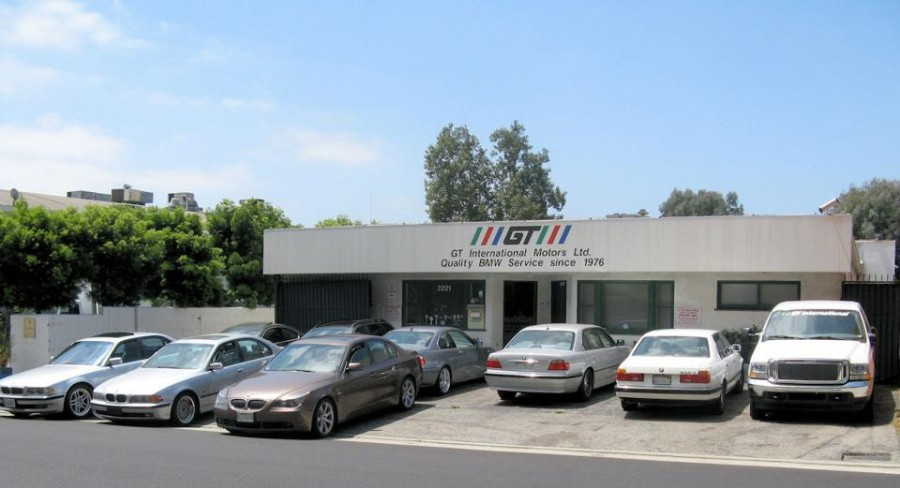 bmw repair by gt international motors in los angeles ca