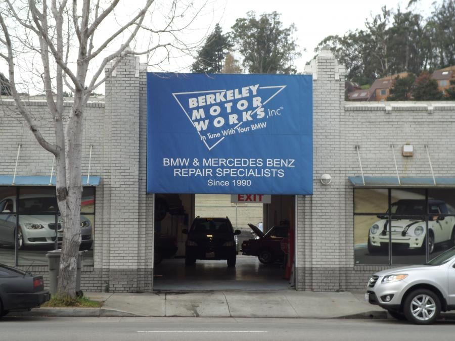 Mercedes benz repair by berkeley motor works in albany ca for Mercedes benz repair dallas