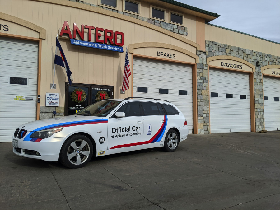 Official Vehicle of Antero Automotive!