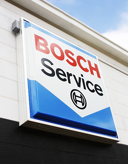Authorized Bosch Service Center, belonging to the nationwide Bosch Service Network.