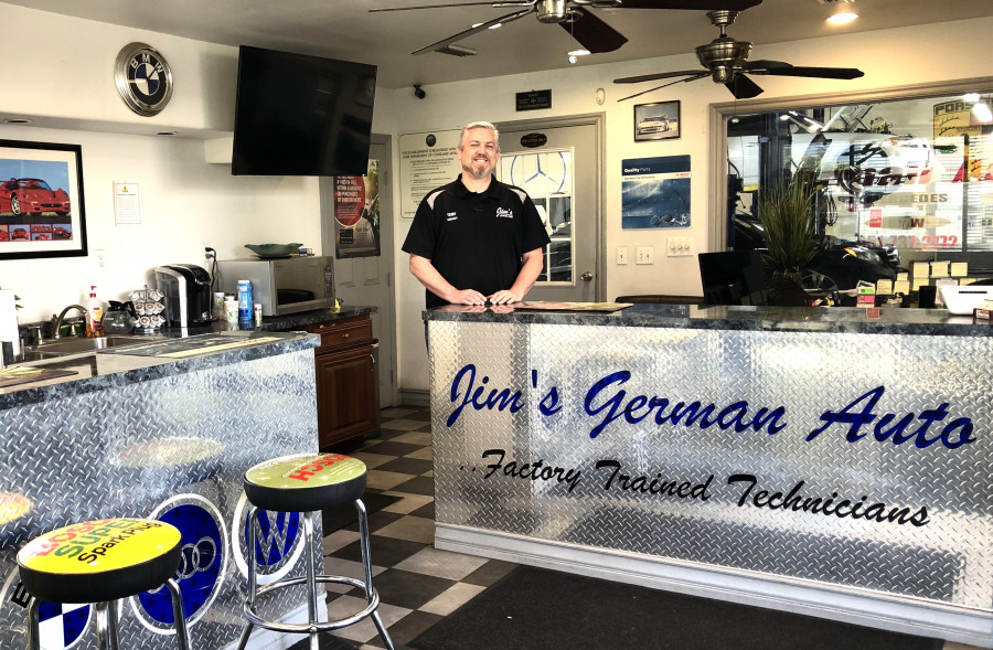 Terry K - Our service manager with over 30+ years experience specializing in German vehicles.