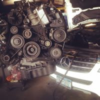 Engine out for balance shaft replacement