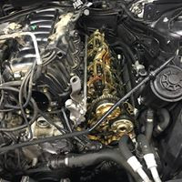 Valve cover gasket and timing chain cover gasket replacement on this E39 Bmw 540I