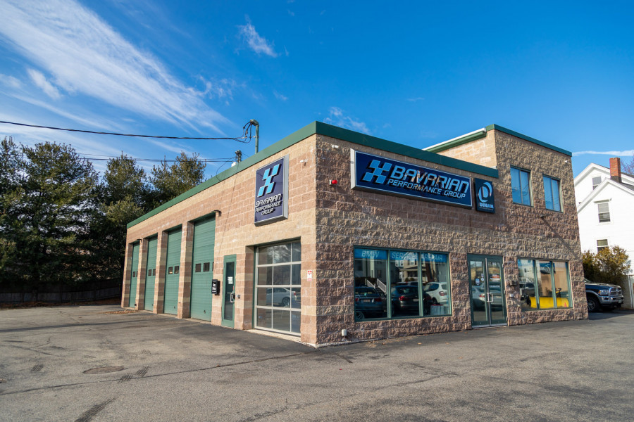 Our BMW repair shop in Winchester, MA!