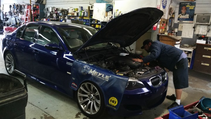 Working on a M5