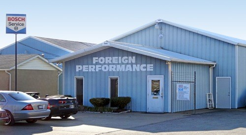 Mercedes benz repair by foreign performance in evansville for Mercedes benz repair shops