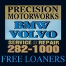 Precision Motorworks - Independent Volvo repair shop near Fillmore Street Garage