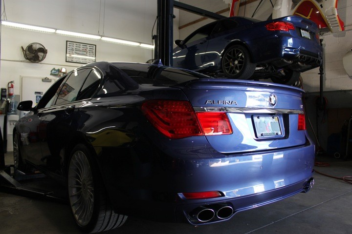 2012 BMW ALpina B7 and 2011 BMW E-92 M3