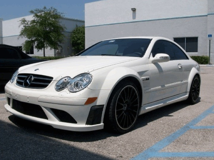2008 CLK 63 AMG Black Series