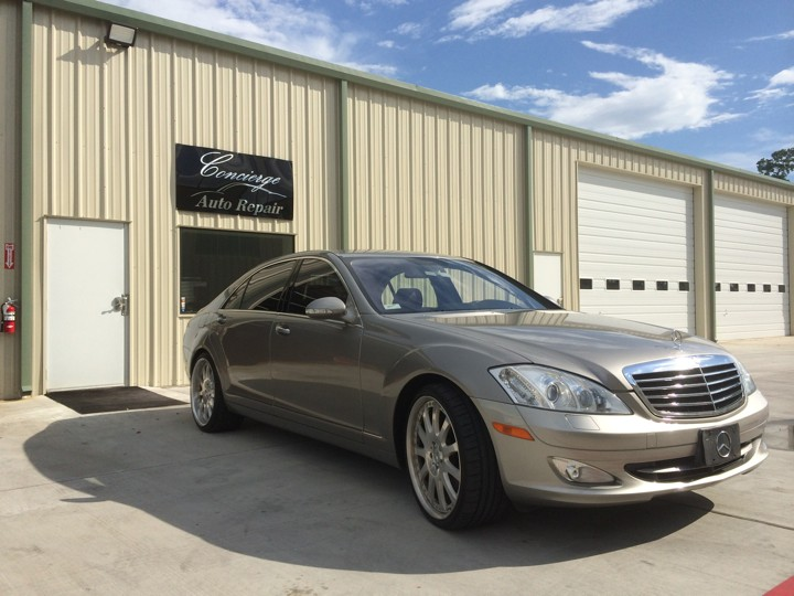 Mercedes benz repair by concierge auto repair in spring for Mercedes benz spring tx