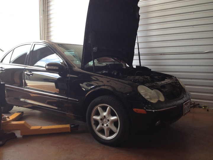 Mercedes benz repair by concierge auto repair in spring for Mercedes benz mechanic houston