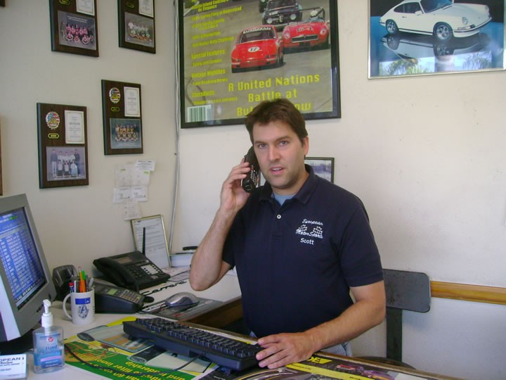 Scott, ready to help you with all your European car service needs!