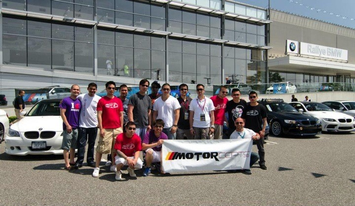Motorcepts Team At Rallye show
