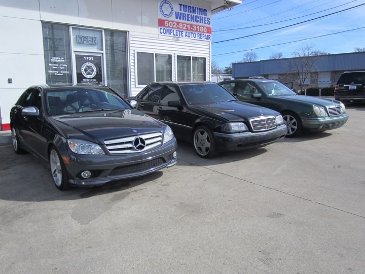 Mercedes benz repair by turning wrenches in louisville ky for Mercedes benz louisville ky