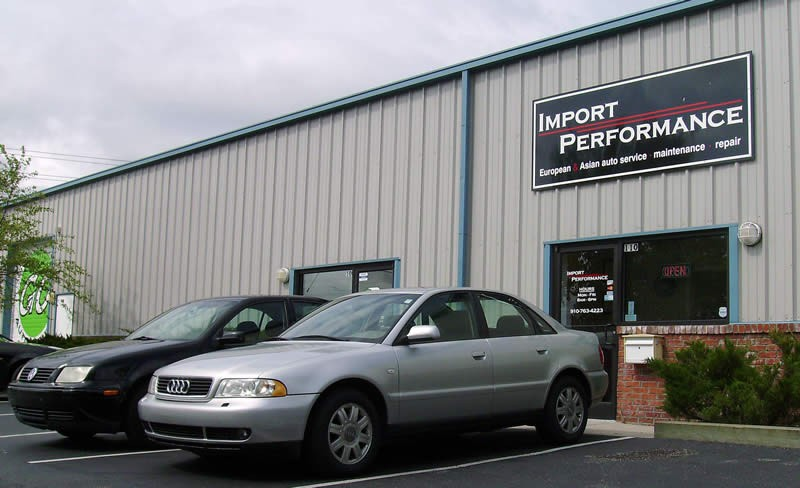 mercedes benz repair by import performance in wilmington