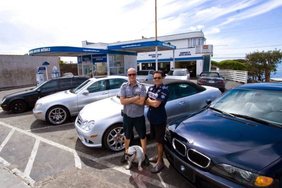 Mercedes benz repair by laguna motor werks in laguna beach for Mercedes benz motor werks
