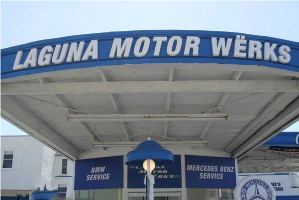 Mercedes Benz Repair By Laguna Motor Werks In Laguna Beach
