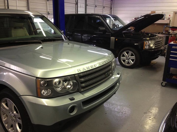 We work on more Land Rovers and Range Rovers than any other independant shop in the area.