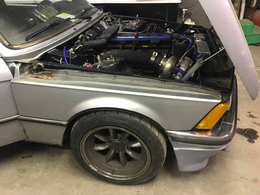 E21 S52 Turbo - built and tuned in house